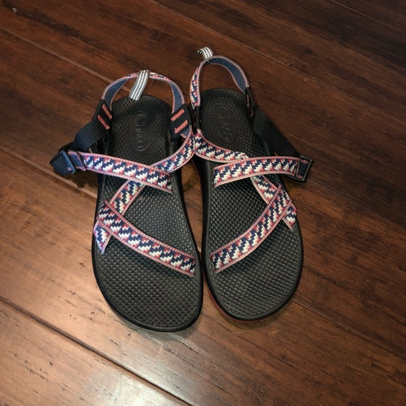 14f655448a26 Chaco Other - Red white and blue Chacos